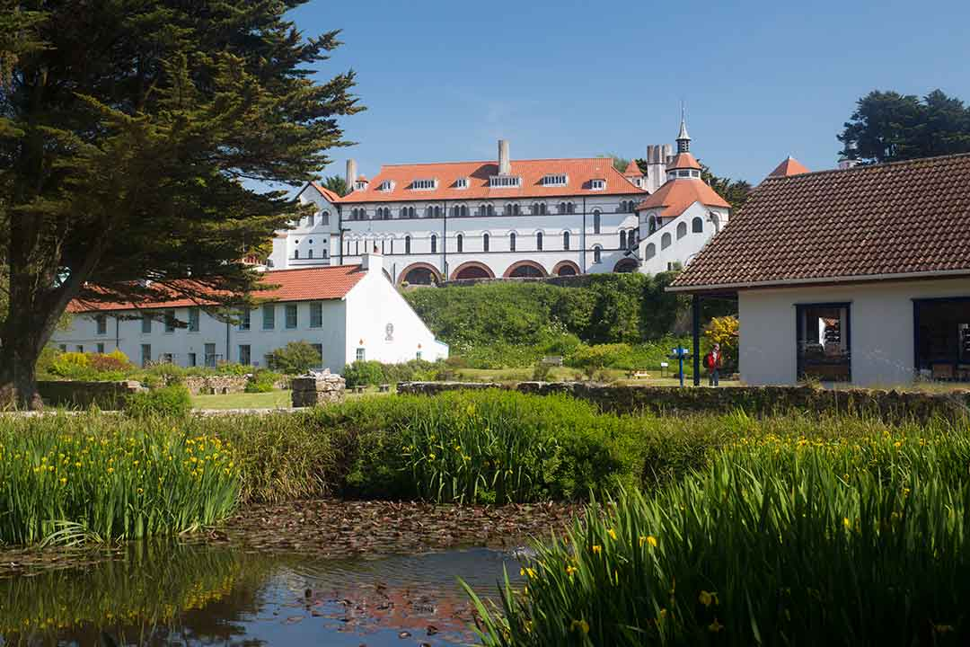 Image of Caldey Abbey, Pembrokeshire, Wales