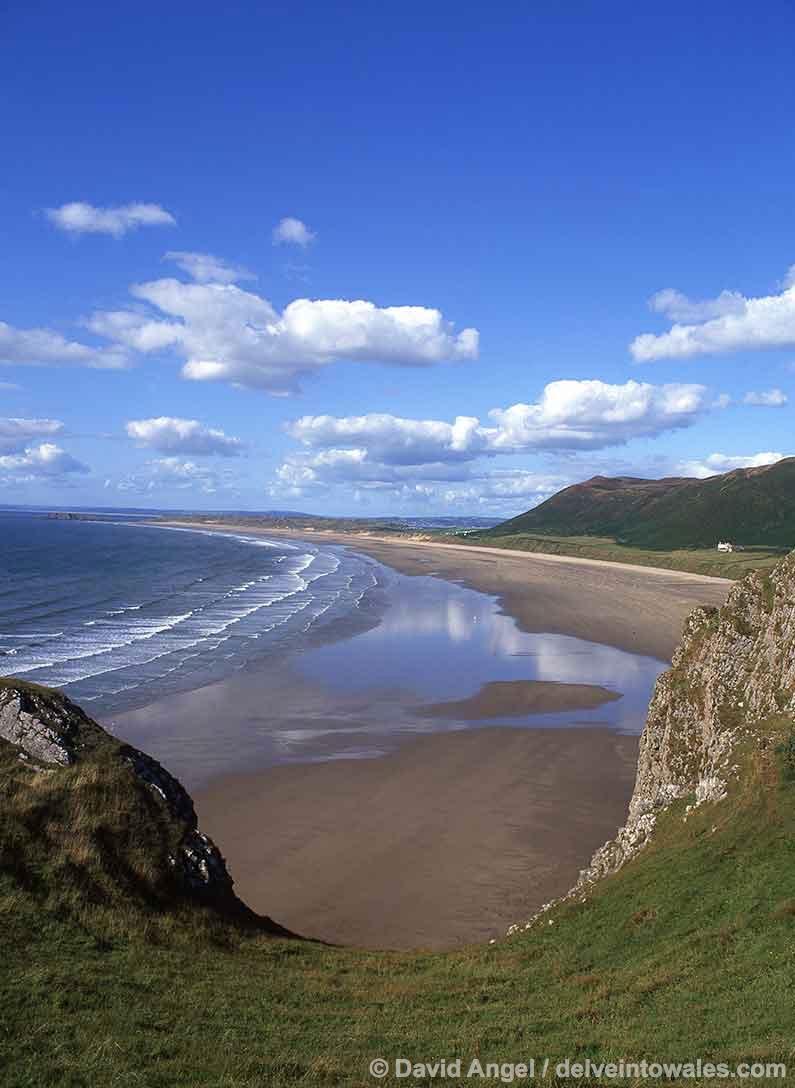 Image of Rhossili beach, Gower Peninsula